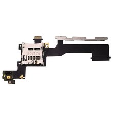 1 PCS With Power On Off + Volume Button Replacement Flex Cable + SD Memory Card Tray Holder Slot US For HTC One M9 Repair Parts