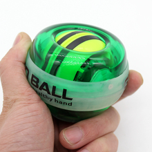 New Fully Automatic PowerBall LED Flashing Power Ball Gyroscope Wrist Arm Exercise Simulator Strengthener Gyro Force Ball