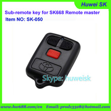 SK050 ToyotaModel 434MHz No. A fixe code copy remote for SK668 remote master/lock smith tool/digital counter remote(China)