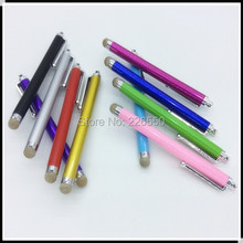 500 pcs Stylus Touch Pen FIBER MESH FABRIC TIP For Window Surface RT 8.0 Tablet for iPad Mini Air 2 3 4