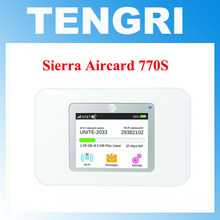 Original Unlocked 150Mbps Sierra Wireless Aircard 770S Portable 4G LTE Mobile WiFi Hotspot 700MHz (Band 17) / AWS /1700 / 2100(China)