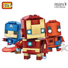 Buy LOZ Superhero Building Blocks Figures Bricks Kids Assembly Toys Educational Character Super Heroes Boy Gift Cheap Toys Children for $4.05 in AliExpress store