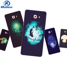 Custom Phone Cases For Samsung Galaxy C9 Pro For Galaxy Note4 / Note5 Shell For Grand Prime G530 Soft TPU Dark World Printing