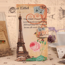 ABCTen Accessory NEW  Flip PU Leather Cute Painted Design Cover Protection Skin Case For Apple ipod Touch 5 5G