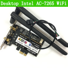 Desktop AC-7265 802.11AC Dual Band 867 Мбит/с Bluetooth 4,0 WI-FI Intel 7265NGW WI-FI карты Linux/Win7/Win8/Win10/AP(China)