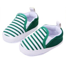Kids Toddler Baby Unisex Boys Girls Striped Anti-Slip Sneakers Soft Bottom Shoes Drop Shipping