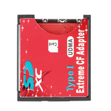 64GB- 128GB Single Slot Extreme For Micro SD/SDXC TF To Compact Flash CF Type I Memory Card Reader Writer Adapter