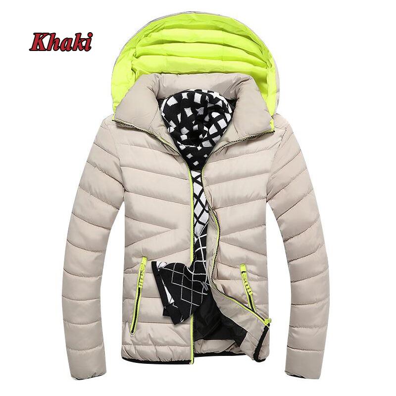 Mens Winter coat Jacket Men Fashion Stand Collar Male Parka Jacket Mens Solid Thick Jackets Coats clothes Man Winter Parkas 5