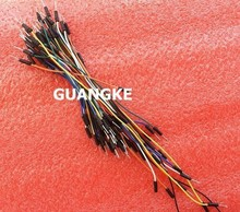 650pcs Jump Wire Cable Male to Male Jumper Wire for Arduino Breadboard, Free Shipping(China)
