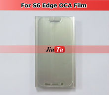 For Samsung S6 Edge S7 S6 Edge Plus S8 S8+ Plus OCA Film For Samsung Galaxy Double Side Sticker For LCD Digitizer Glass Repair