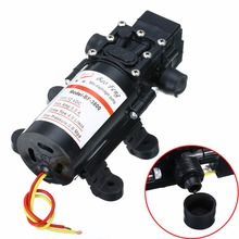 Mayitr Diaphragm Water Pump 100PSI DC 12V 4L/Min Powerful Automatic Self Priming High Pressure Pump for RV Car Boat Agriculture