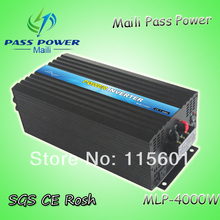 4kW/4000W PV Power Inverter DC 48V to AC 100V/110V/120V Pure Sine Wave Output