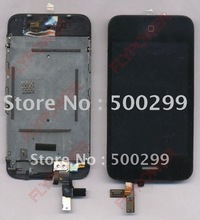 For iphone 3G LCD Screen Digitizer with touch assembly by free shipping; 100% Warranty