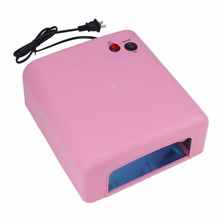 Nail Art UV Compact Portable LED UV Nail Art Lamp 36W LED Nail Dryer Curing Lamp Machine for UV Gel light to Nail Polish US Plug(China)
