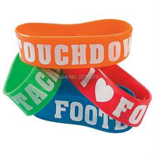 400pcs one inch USA American Patriotic Big wristband silicone bracelets free shipping by DHL express