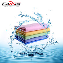 43*32*0.2CM Super Absorption Synthetic Deerskin PVA Chamois Cham Car Wash Towel Auto Care Clean Towel(China)