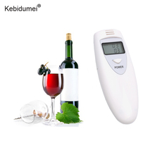 5pcs/lot Portable Breath Alcohol Tester Alcohol Breath Tester Analyzer with LCD display easy to carry Accurate measureme(China)