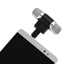 Mini Wireless Mic 3.5mm Plug Jack Digital Stereo Microphone For iOS iPhone 7 6s Plus For Samsung S8 Huawei Xiaomi Android Phone