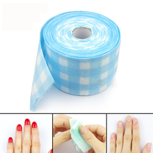 Non-woven Towel Cotton Lint Wipes Paper 18m/Roll For Nail Nutrition And Sterilization Treatments Manicure Nail Art