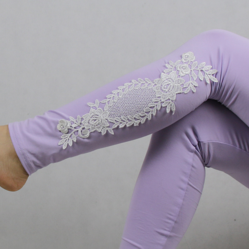 Babbytoro Brand Cotton Lace S- 7XL Leggings For Women 18