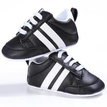 High quality Baby Running Sport Shoes Girl Boy lace-up Soft Sole sneakers Kids First Walkers Crib Shoes Outdoor non-slip