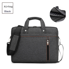 Burnur New 13.3 14.1 15.6 17.3 Inch Laptop Bag Shockproof Airbag Waterproof Computer Bag Thick Notebook Sholder Bag men Women(China)