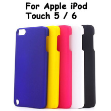 "For Apple iPod Touch 5 5th / 6 6th Gen 4.0"" New Slim Matte Hard Plastic Case Candy Color Frosted Anti-fingerprint PC Cover"