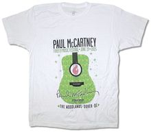 Paul McCartney Firefly Music Festival June 19 2015 White T Shirt New Official Fashion Print  T-Shirt Plus Size Round Neck Men