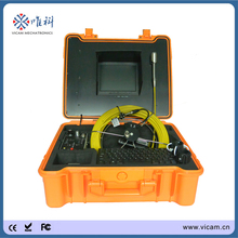 VICAM Handheld Video Digital Pipe Inspection Endoscope Camera with DVR and 29mm Self-levelling Camera Head(China)