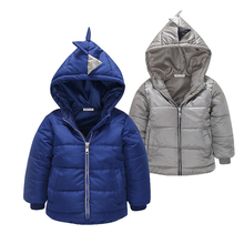 2-6 years Boy Coat Children Winter Outwear Coat Boy Jacket Baby Girls Coat Warm Hooded Children Clothing Girls Winter Clothes