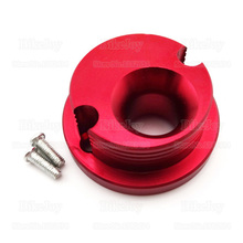 CNC Air Filter Adapter Velocity Stack Red for 47cc 49cc Mini ATV Quad Motor Dirt Pocket Bike Moped Scooter Motocross(China)