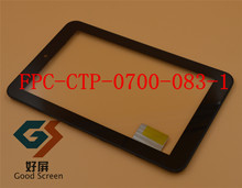 "+shell FPC-CTP-0700-083-1 7"" Prestigio multiPad 7.0 PMP5770d Prime Duo tablet pc touch panel digitizer glass replacement(China)"