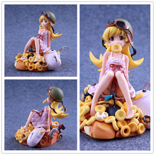 Oshino Shinobu Japan Toy Figures Japanese Action Figures Model Donuts Anime Beautiful Girl Classic Collection Gift Grownups Toys