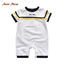 Summer Style Romper Baby one piece clothing Cotton Infant Boy clothes Outerwear