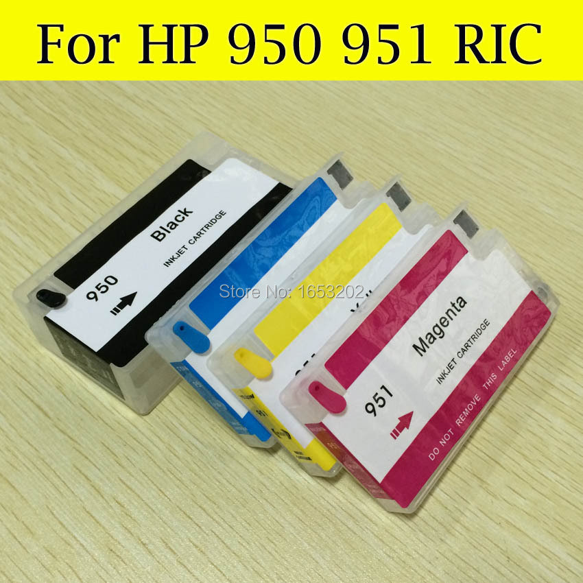 Sale HP950 951 Refillable Ink Cartridge For HP Officejet 8100 8600 8620 8630 251dw 276dw Printer With ARC Chips<br><br>Aliexpress
