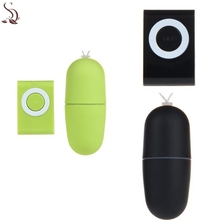 Hot Erotic Waterproof Wireless remote control Shacking Shock Massager Egg Vibrator Dec28(China)