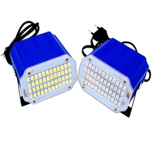 High Power mini 48 SMD5050 LED Stage Light DJ Strobe Flash Light white RGB Colour Club Party festival USE 110V 220V EU/US Plug(China)