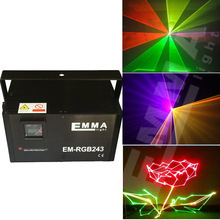 2000mw rgb animation laser nightclub light rgb for sales full color beam&animation programmable sd card player light