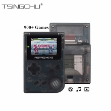 TSINGO Retro Mini Handheld Game Player Built-in 940+ For GBA Classic Games 32 Bit Portable Mini Handheld Game Console For Kids(China)