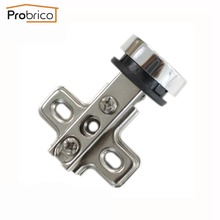 Probrico Furniture Glass Cabinet Door Hinge Concealed Hidden CH101GA Full Overlay Flush Cupboard Door Hinge(China)