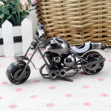 Vintage Iron Motorcycle Model Decoration Art Home Decoration Married Decoration Wholesale