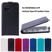 Flip Leather Case For Micromax A79 Case For Micromax Bolt A79 4.0 inch For Micromax Canvas Fire A093 4.0 inch Case Cover