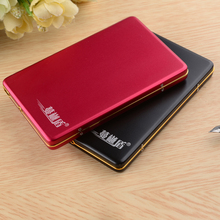100% HDD 320G External Hard Drive 320gb hd externo USB2.0 hard disk for desktop and laptop disco duro externo(China)