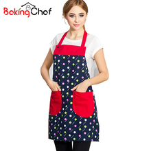 Cute Kids Women Kitchen Aprons  Pocket Antifouling Eat Cooking Houshold Clean Chef Accessories Supplies Gear Items Stuff Product