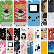 5C Cover For Apple iPhone 5C Case Cases Phone Shell Hard Plastic Material Painted Grassland Scenery Feel Fresh Good