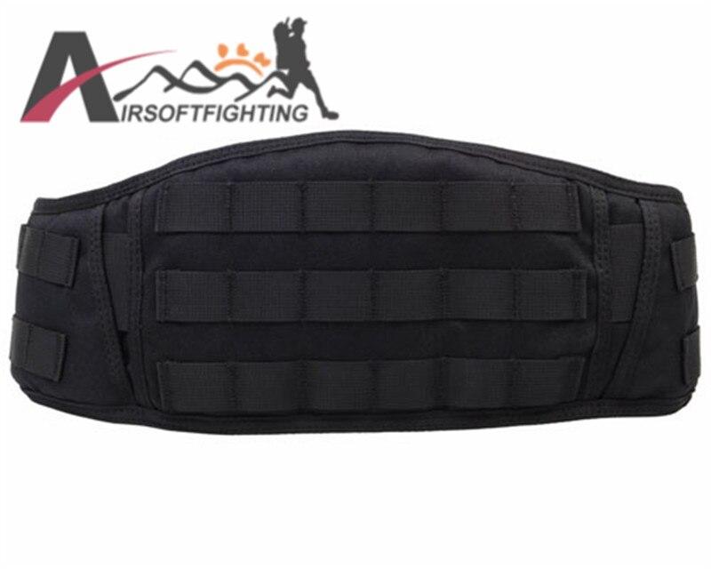 Tactical 1000D Padded Molle Waist Belt Web Battle Belt Outdoor Airsoft Military Hiking Hunting Waist Bering Belt Strap BK<br><br>Aliexpress