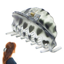 Popular Trend Women's Plastic Hair Clip Hairpin Claws Clamp Grips Headwear Headdress Accessory(China)