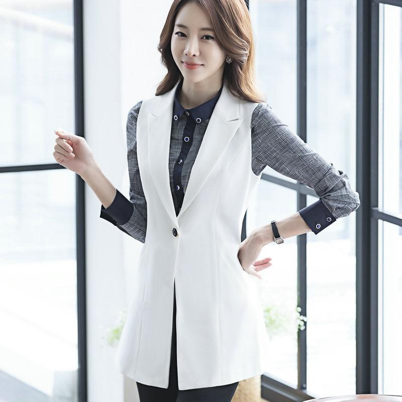 Popular Women Suit Sleeveless Blazer-Buy Cheap Women Suit ...
