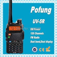 DHL Freeshippin+Pofung UV-5R vhf uhf dual band Interphone Transceiver Two Way Radio Handled Intercom Cheap Price CB Radio uv5r(China)