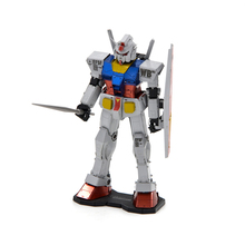 Gundam RX78-2 C 3D metal nano puzzle assembled model Mech lovers DIY Collect fun gift ideas TOY